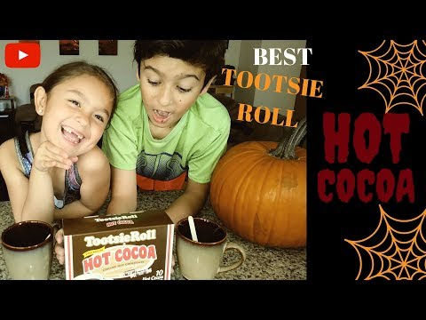TOOTSIE ROLL HOT COCOA REVIEW! Make a Huge Hot Cocoa