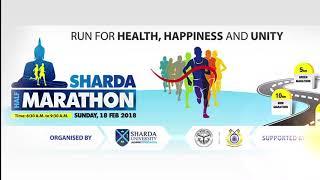 Run for victory in Sharda Half Marathon 2018