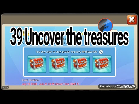 Opening 39 Uncover The Treasures Chest - Castle Clash