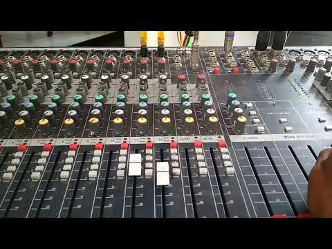 Jumper mixer soundcaft 24chanel dengan 4chanel sony