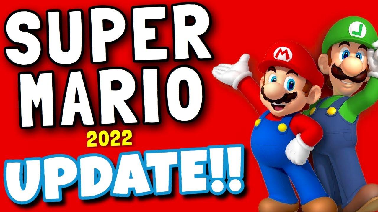 super mario bros 2022