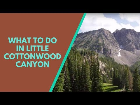 Little Cottonwood Canyon 20 minute Drive from Salt Lake City, hiking, skiing, biking, picnic, Utah