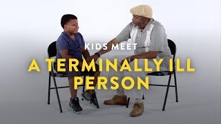 Kids Meet a Terminally Ill Person | Kids Meet | HiHo Kids