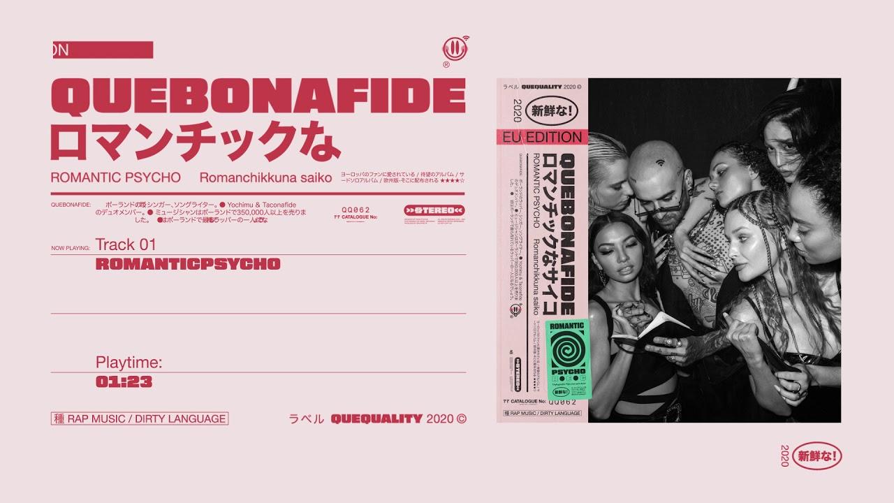 Quebonafide - ROMANTICPSYCHO