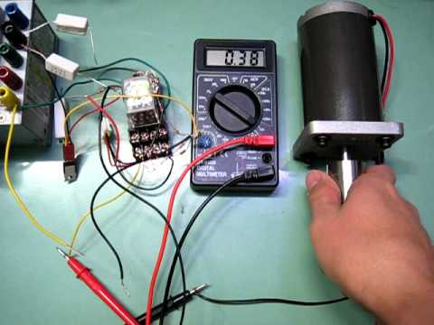 dc motor overload protector youtube