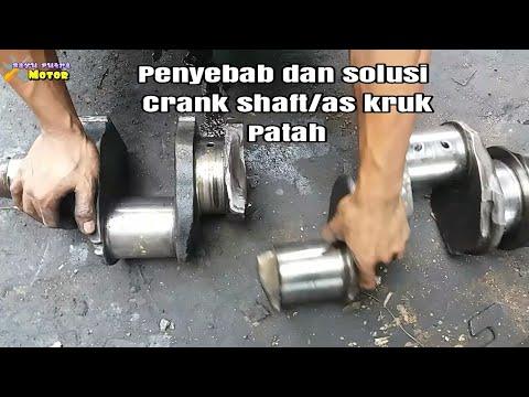 PENYEBAB CRANK SHAFT/AS KRUK PATAH NISSAN DIESELV8#bayuputramotor
