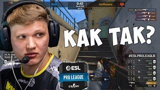 FLAMIE STABBED S1MPLE.. Na'VI vs HellRaisers ESL Pro League Season 10