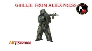 [ОБЗОР] Гилли с Алиэкспресс / GHILLIE FROM ALIEXPRESS / Маскхалат из Китая