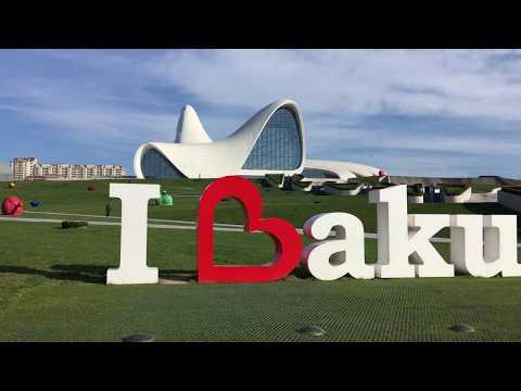 Baku, Azerbaijan - Travel vlog 2017