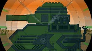 Все серии КВ 100. Стальные монстры. Мультики про танки