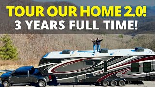 Grand Design Momentum 397TH (Full Time RV Home Tour 2.0) | Changing Lanes