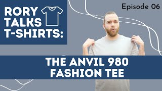 Anvil 980 Fashion Tee Product Knowledge | T-shirt.ca