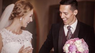 Стильная свадьба Александра и Анастасии