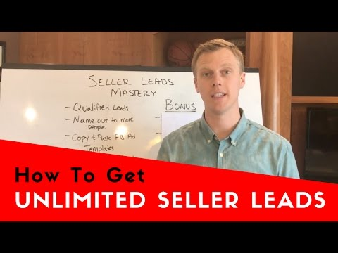 How to Generate Seller Leads For YOUR Real Estate Business