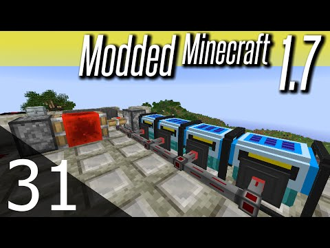 Modded Minecraft 1.7 - ep. 31 - Solar Generators
