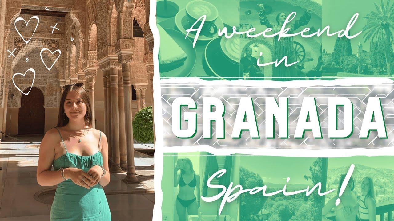 a weekend in Granada, Spain! 🇪🇸 Year Abroad Diaries #3   flamenco shows, hot tubs (+ anxiety)...