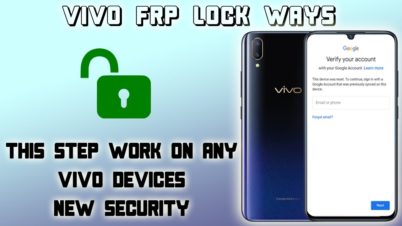 FRP VIVO V11i REMOVE GOOGLE ACCOUNT LOCK ALL SECURITY