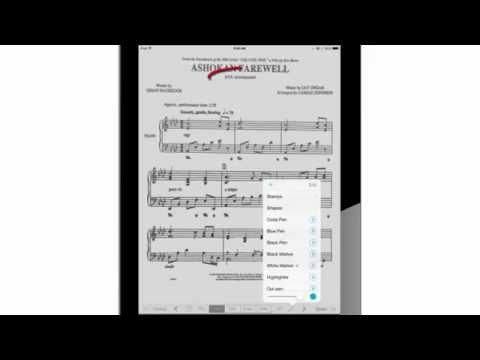 Upload the newly created and edited PDF music sheet document into
