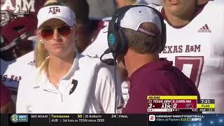 Texas A&M vs South Carolina 2018 - no huddle