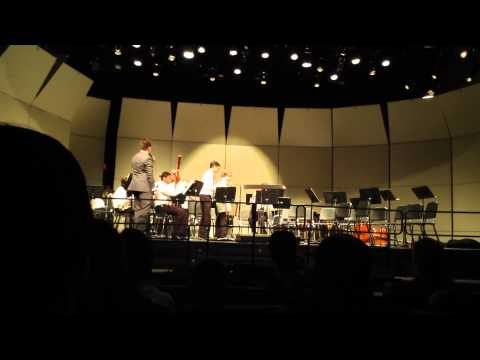 Nyack Middle School Jazz Band winter concert, Dec. 15, 2014