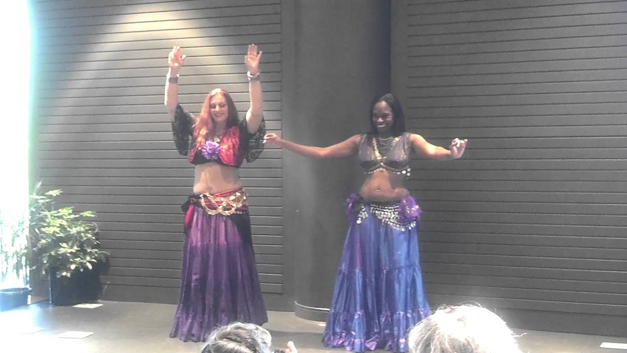 zivah saphirah belly dancers perform at hoover public library 4 30