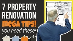 7 Property Renovation / Property Development MEGA TIPS | For The Buy To Let Landlord & Investor