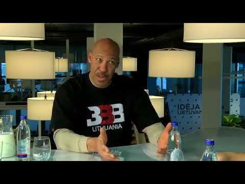 LaVar Ball Interview: Discusses Lithuania, their upcoming pop-up shop, and BC Vytautas