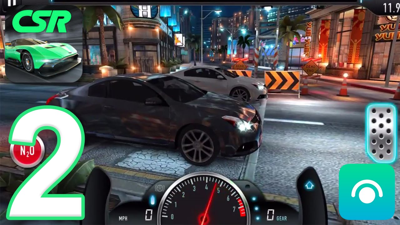 CSR Racing - Gameplay Walkthrough Part 2 - Tier 1 (iOS, Android)