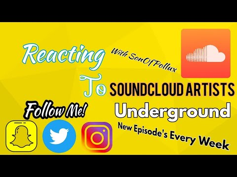 REACTING To SoundCloud Rappers | EDM | UnderGround Artists | DEFINITION OF SOUNDCLOUD RAPPER 1