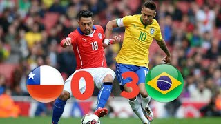 Brazil Vs Chile (3-0) Highlights...//Fifa World Cup 2018 Qualifying Match