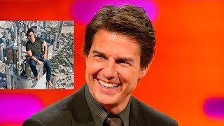 TOM CRUISE On Top of World's Tallest Building!! The Graham Norton Show on BBC AMERICA
