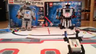 Lego Mindstorms Ev3 vs. Lego Mindstorms NXT 2.0 German