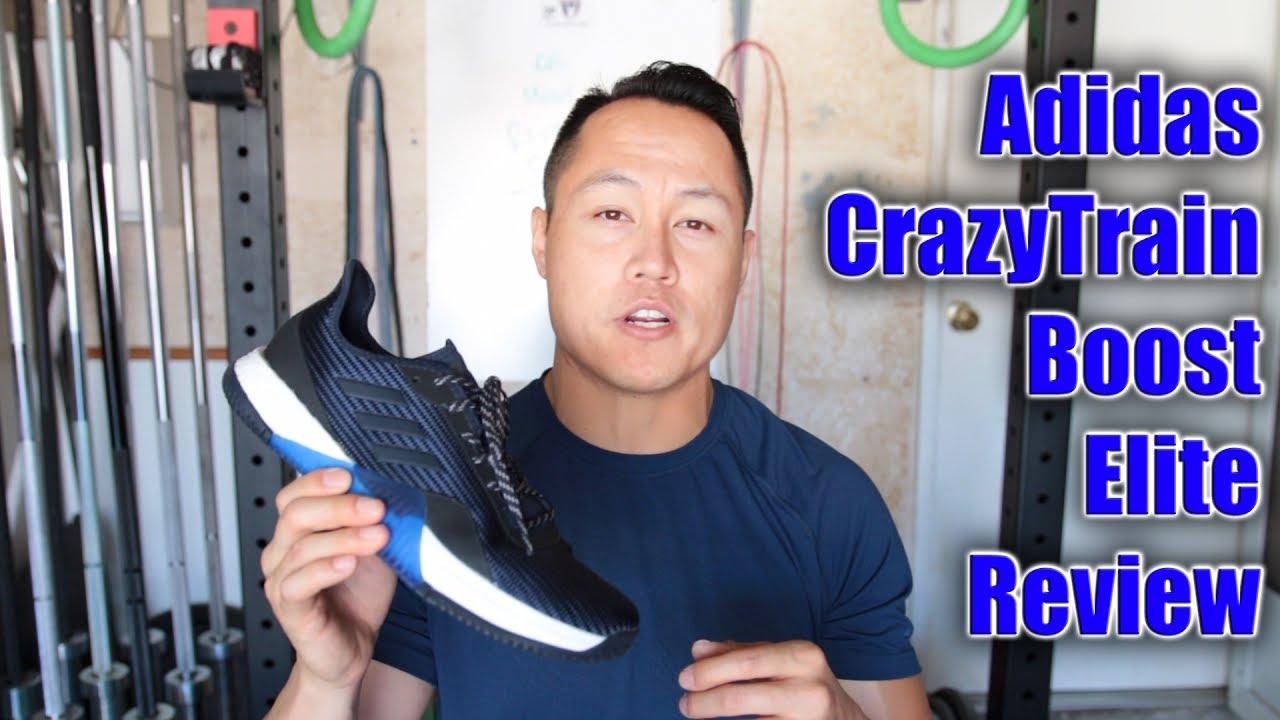 adidas crazytrain elite revisione su youtube