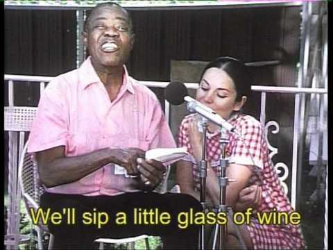 "Louis Armstrong is learning "" That's my desire "" in french"
