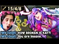 KATEVOLVED | CARRYING IWILLDOMINATE IN CHALLENGER... HE CAN'T HELP BUT SIMP FOR MY KATARINA. 😎
