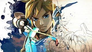 【Legend Of Zelda: Breath Of The Wild】Link Watercolor Painting
