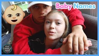 Choosing Future Baby Names! After School Basketball!