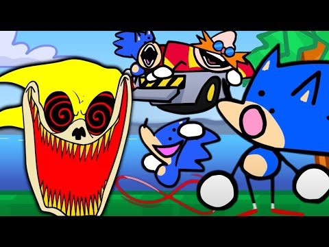 SOMETHING ABOUT SONIC THE HEDGEHOG - Best And Funniest Sonic Animation By TERMINAL MONTAGE REACTION