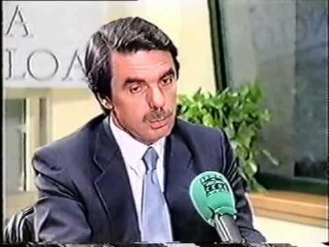 Aznar - Entrevista a Onda Cero en Moncloa en 2003 (2/7)