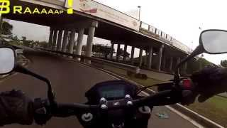 GoPro Libreville Tour - Honda CB 500 F