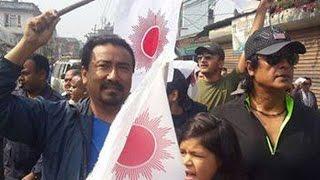 हमालले एमालेका उम्मेदवारलाई धोका दिएपछि हंगामा/Rajesh Hamal In Uml Party With Kp Oli