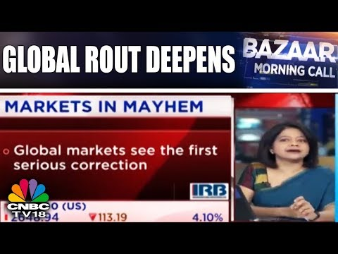 Global Rout Deepens | Asian Markets Tumble | Bazaar Morning Call | CNBC TV18