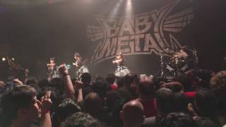 Babymetal performing live from Los Angeles at the Hollywood Palladi...