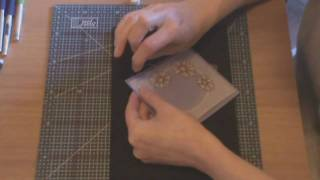 Parchment Craft beginners lesson 1 part 4 of 4