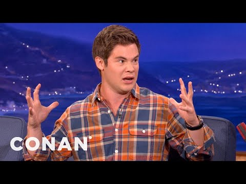 Adam DeVine Is Oozin' Out Of His Spanx - CONAN on TBS