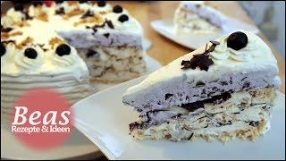 Grillagetorte Rezept | Eissplittertorte | Grillasch | Beas halbgefrorene Torte