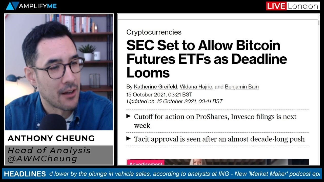 Bitcoin Futures ETF Demand Surges During U.S. Trading Premiere