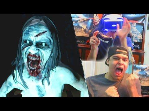 Pasando MUCHO MUCHO MIEDO! [ESPECIAL HALLOWEEN] - Until Dawn VR w/ Grefg y Alpha!