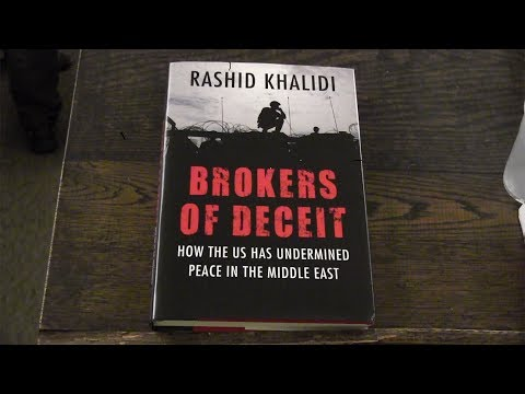 KHALIDI  Brokers of Deceit: How the U.S. Has Undermined Peace in the Middle East