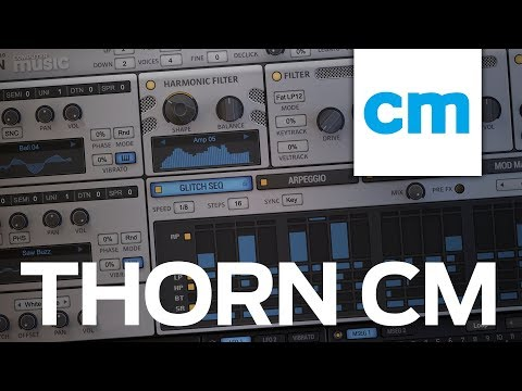 FREE VST/AU/AAX Spectral Polysynth: Dmitry Sches Thorn CM